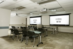 Large Training Room Draper Projector Screen